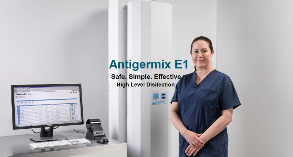 Antigermix E1 High Level Disinfection.