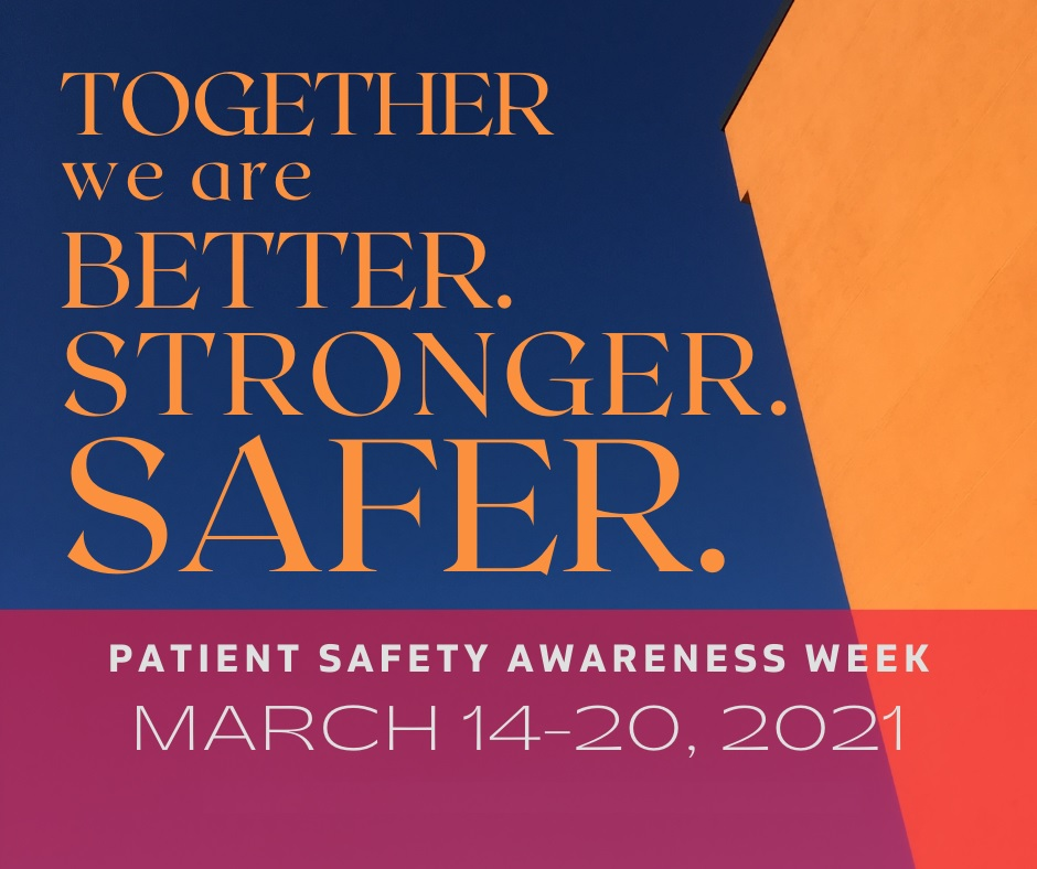Patient Safety Awareness Week Ultrasound Disinfection